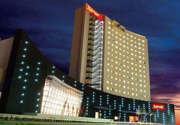 Vista exterior del Aguascalientes Marriott Hotel