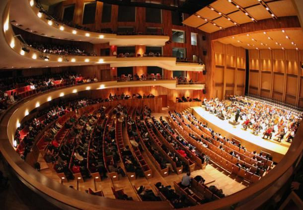 Vista interior del Teatro del Bicentenario
