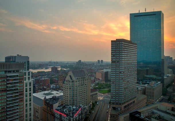 Vistas desde Boston Marriott Copley Place