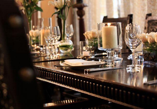 Mesa del restaurante Qespi
