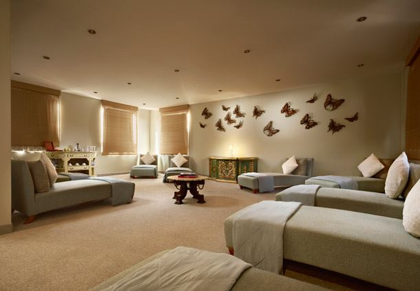 Sala de estar del Tecilli Spa