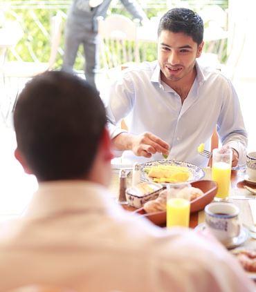 Desayuno en Restaurante Orange