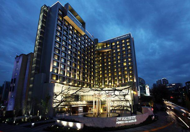 Exterior del hotel JW Marriott Hotel Mexico City Santa Fe