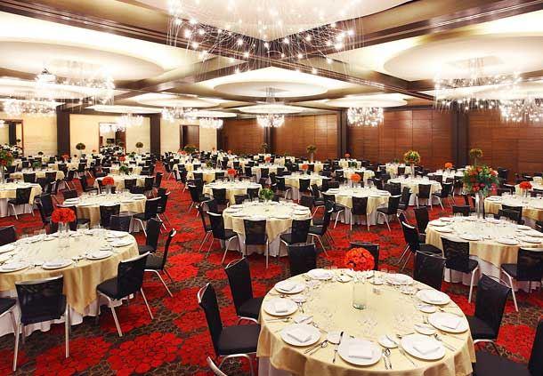 Salón de las Artes - Disposición estilo banquete