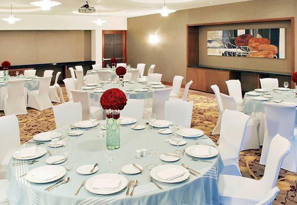 Salón Ébano -Disposición estilo banquete.