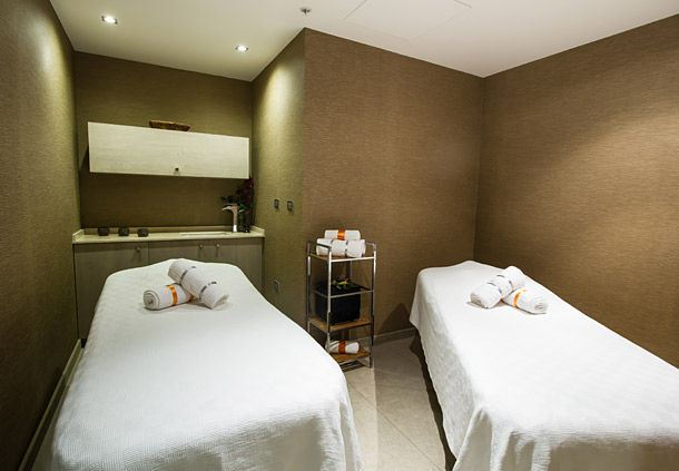 Sala de tratamientos del Elential Spa