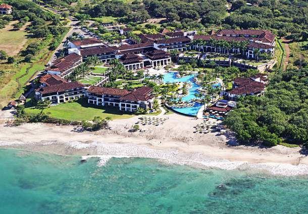 Vista aérea de nuestro lujoso resort en Guanacaste