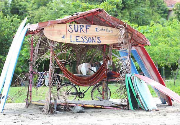 Clases de surf en Tamarindo, Guanacaste