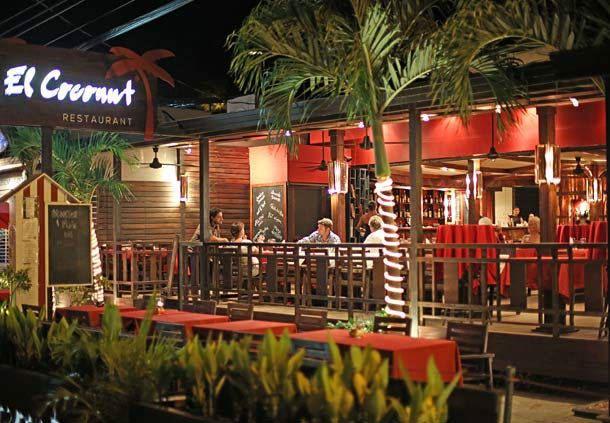 Lugares para cenar en Tamarindo