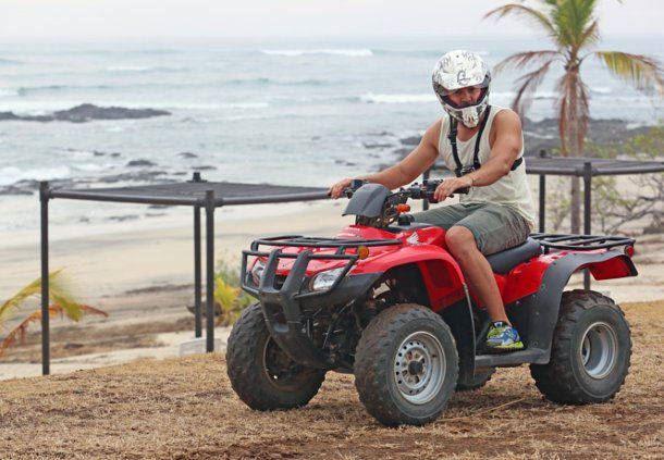 Recorrido en quad por las playas de Costa Rica