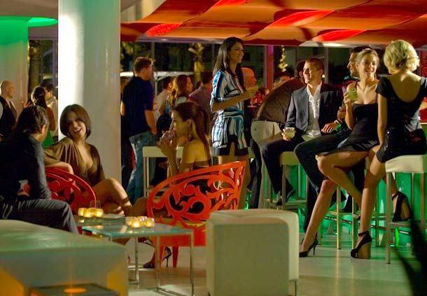 Lobby Bar de Noche