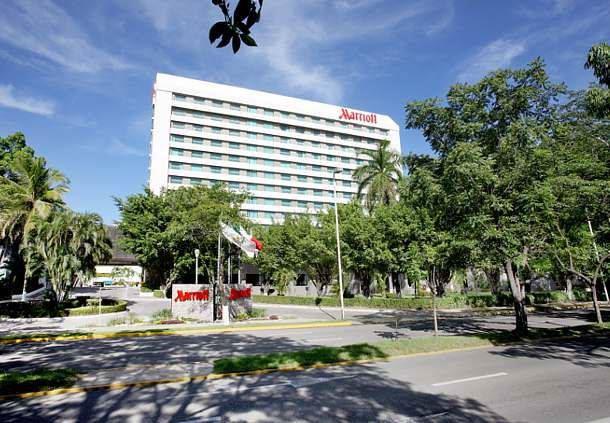 Exterior del Villahermosa Marriott Hotel