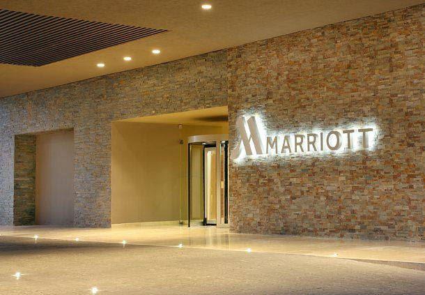 Entrada al Villahermosa Marriott Hotel