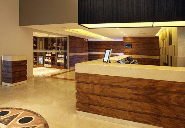 Recepción del Villahermosa Marriott Hotel
