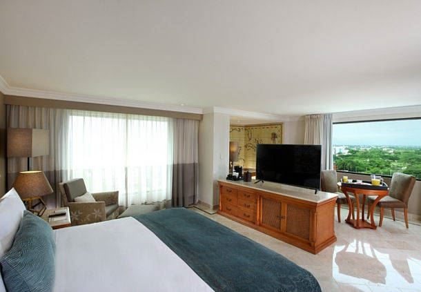 Suite Junior del Villahermosa Marriott Hotel