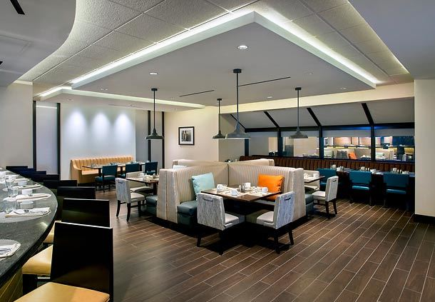 Aviation Grill Dining Area
