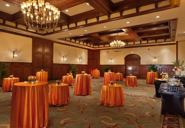 Grand Ballroom - Social Event Setup