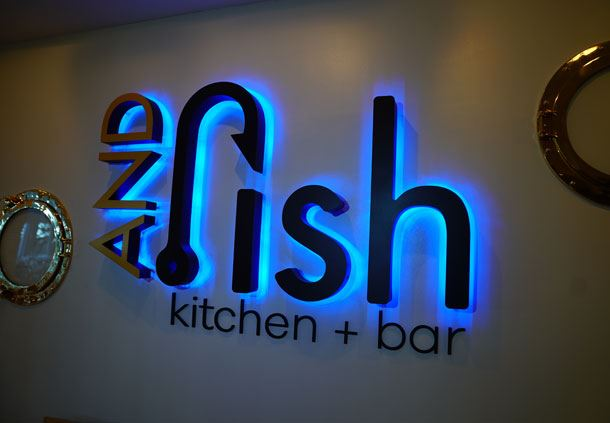 AND Fish Kitchen + Bar