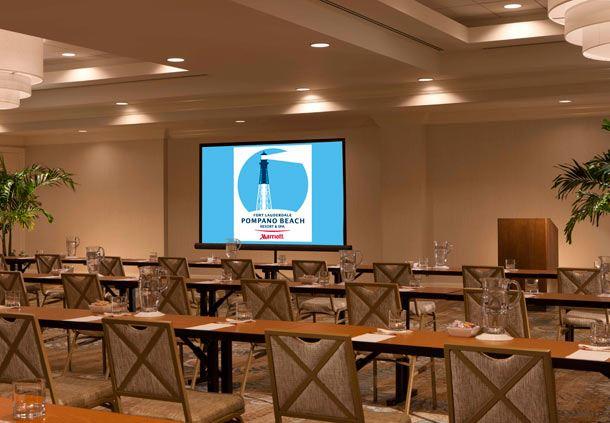 Grand Bahama Ballroom - Classroom Style