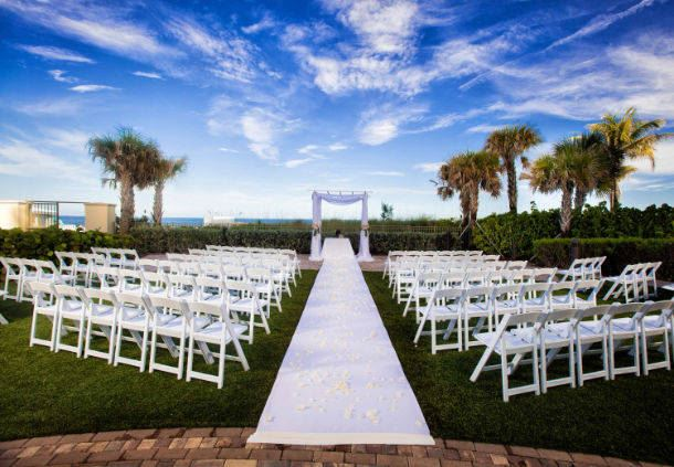 Wedding Ceremony - Outdoor Terrace