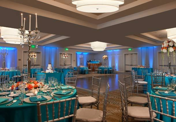 Grand Bahama Ballroom - Wedding Setup
