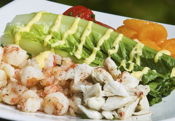 Sea Level Seafood Salad