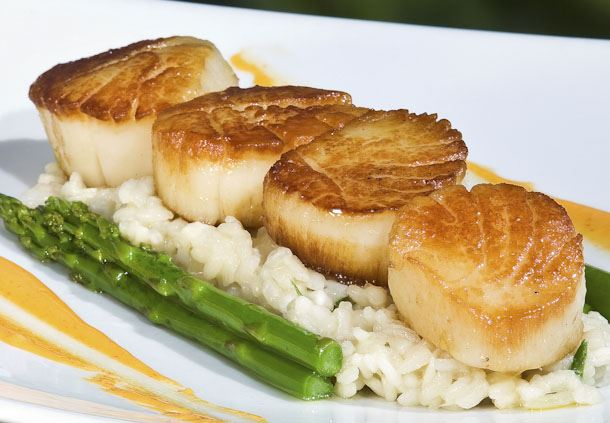Scallop, Crab & Corn Risotto