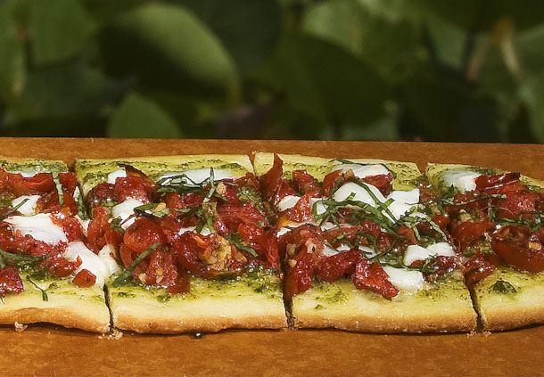 Mozzarella Flat Bread