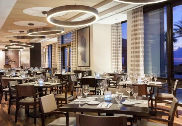3030 Ocean Restaurant Seating Area
