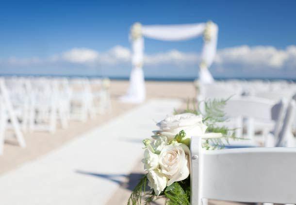 Stunning Oceanfront Wedding