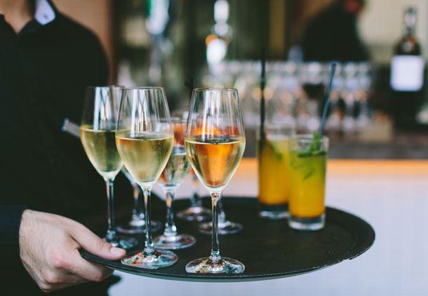Service de boissons pour réunions