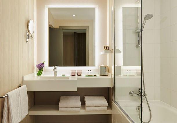 Salle de bains de la chambre Deluxe et Prestige