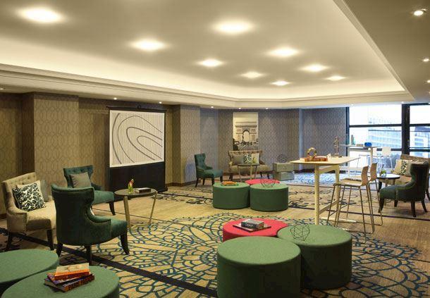 Salle de réunion, espace de présentation