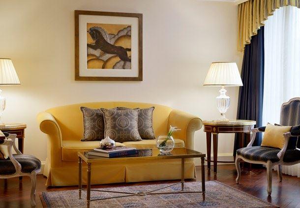 Suite Renaissance, espace salon