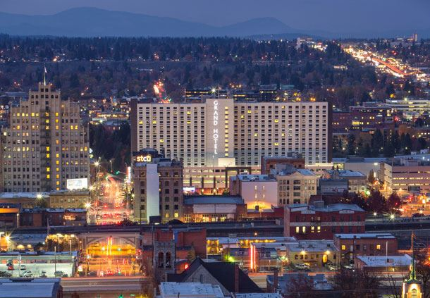Downtown Spokane Views