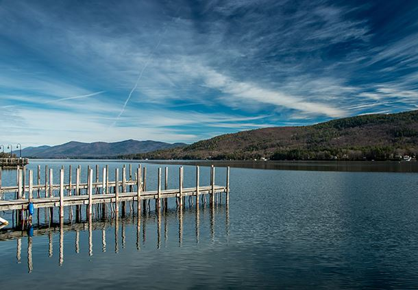 Early Spring in Lake George
