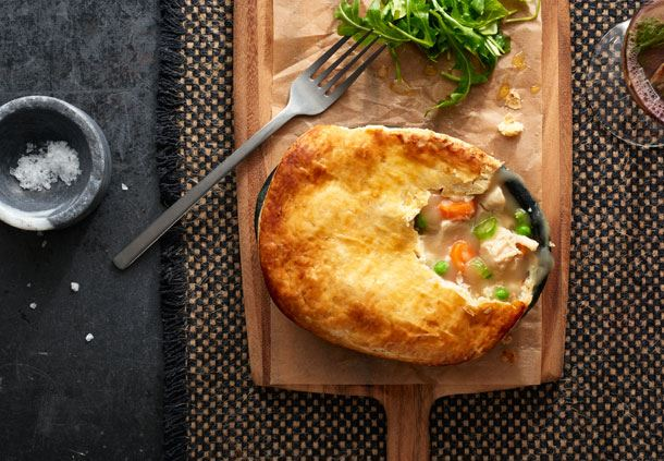 Chicken Pot Pie like mom used to make