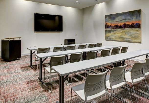 Unique Personality on Display in Each Small Meeting Room
