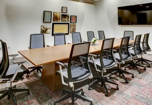 Executive Board Room at The Mill Conference Center