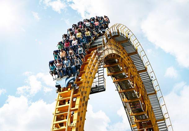 Hersheypark's Skyrush Roller Coaster