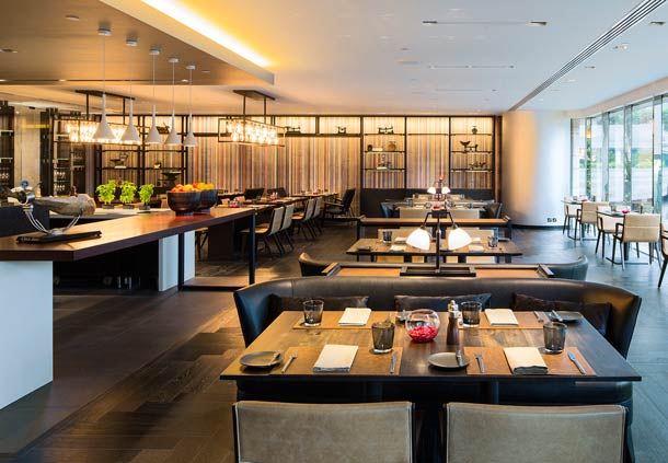 Main Dining Area & Open Kitchen
