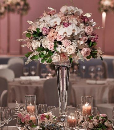 Wedding Reception - Centrepiece