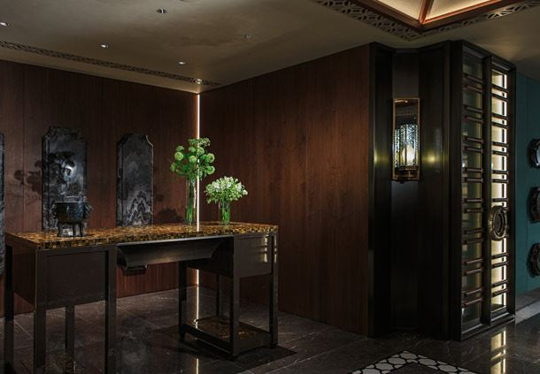 Dynasty Restaurant - Reception Desk