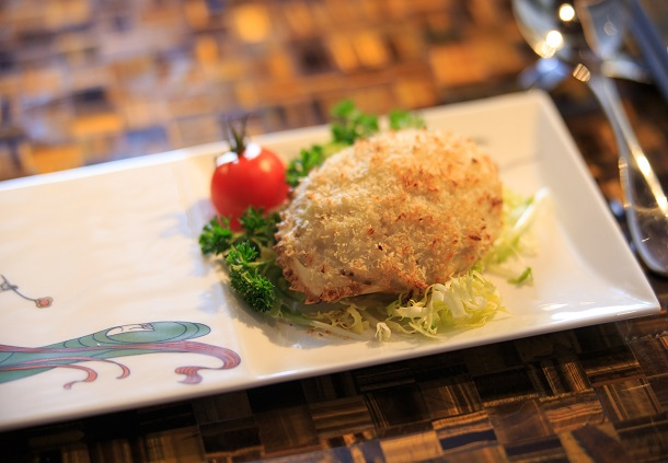 Dynasty Signature Dish - Baked Crab Shell