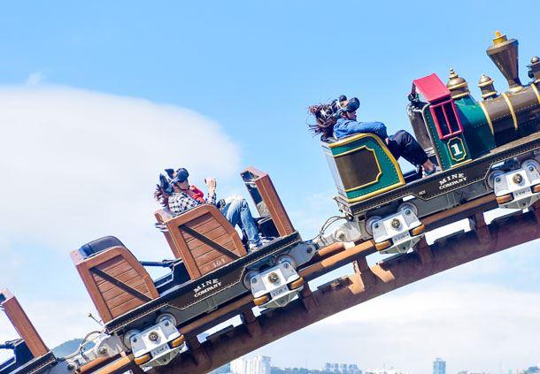 Ocean Park VR Mine Train