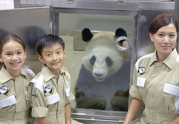 Ocean Park Honorary Panda Keeper