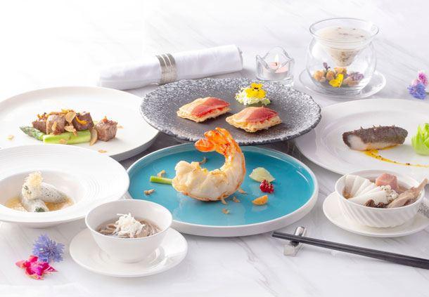 Ocean Park Chef KK Chan Tasting Menu
