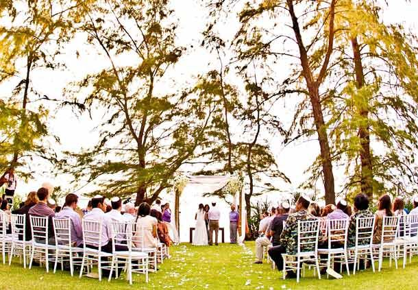 Western Ceremony at Beach Lawn
