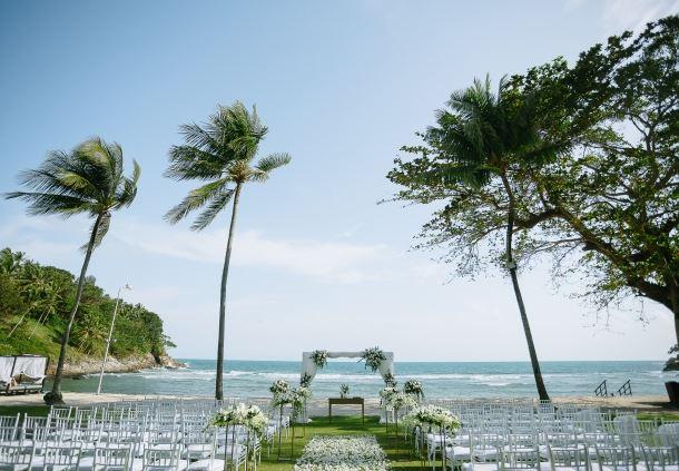 Beachfront Wedding