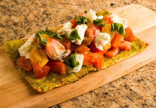 Kuhio Beach Grill Tomato Flatbread